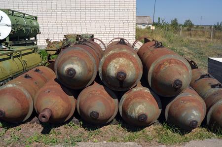 Vintage Soviet weapon.Ukraine Redakční