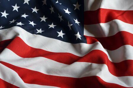 American Flag Hintergrund Standard-Bild - 91689644