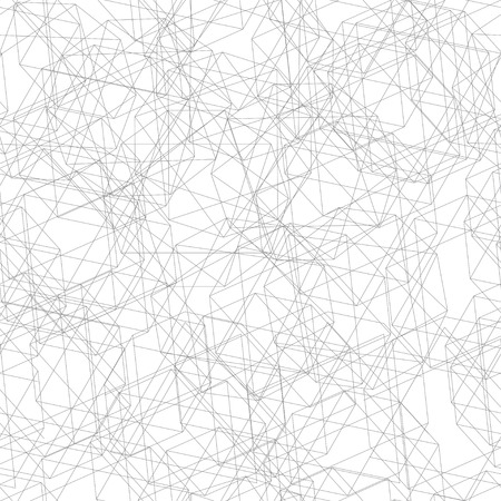 fine lines: Vector illustration. Seamless pattern from grey fine lines decagon