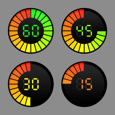 timer: digital timer