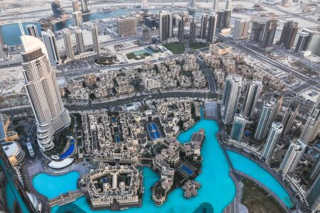 cityscape in Dubai, UAE.