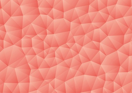 Vector - Abstract pink, red geometric gradient background, vector from polygons, triangle, vector illustration, vector pattern, triangular template