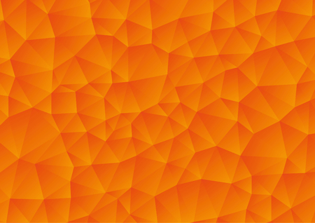 Vector - Abstract orange geometric gradient background, vector from polygons, triangle, vector illustration, vector pattern, triangular template 向量圖像