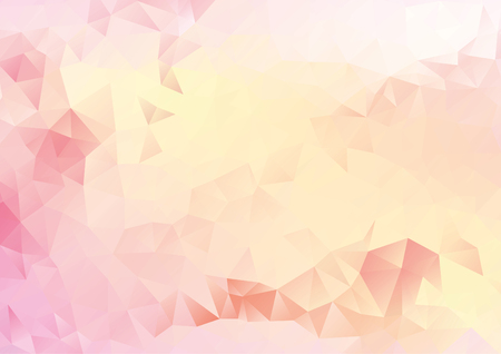 Abstract pink, red geometric gradient background