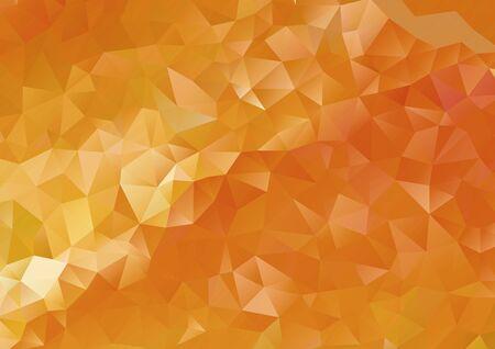 Abstract orange geometric gradient background