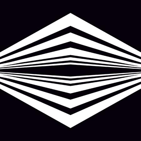 Motivo a strisce con linee trasversali diagonali, strisce intersecanti, forme angolate. Struttura geometrica monocromatica astratta moderna. Sfondo illusorio. Design per decorazioni, copertine, stampe.