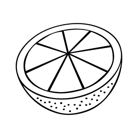 Lemon icon. Simple illustration of lemon vector icon
