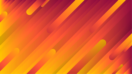 Light Orange, Red and Yellow vector pattern with narrow lines. Elegance abstract diagonal vector illustration. Can be used as ads, poster, banner.