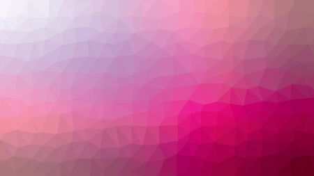 Pink Abstract Low Poly Background. Geometric backdrop in Origami style with gradient. Textured pattern for your website.