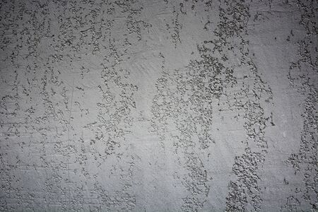 Old grey silver grungy concrete wall texture. Stone surface pattern. Gradient wallpaper shape. Backdrop have copy space for text.