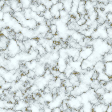 White and gold marble texture. Trendy background for design. Vector illustration