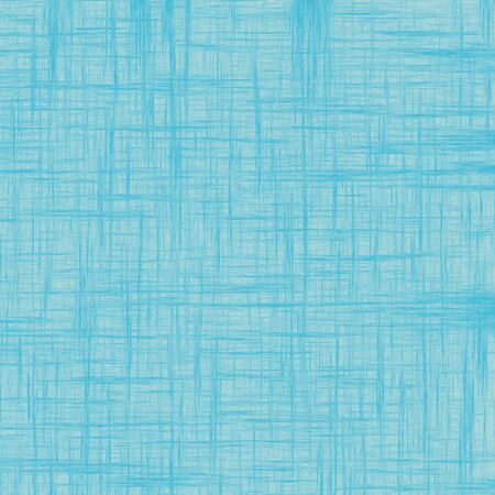 Old light blue vintage grunge textured background. Oil paint effect with lines for textile.