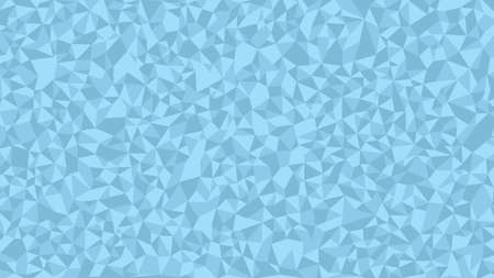 Light Blue Polygon Art Background geometric pattern, triangle polygon design, vector background.