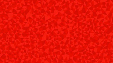 Red Polygon Art Background geometric pattern, triangle polygon design, vector background.