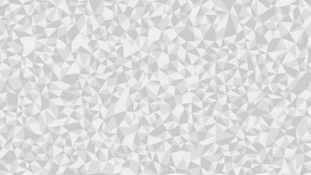 White Polygon Art Background geometric pattern, triangle polygon design, vector background. Vettoriali