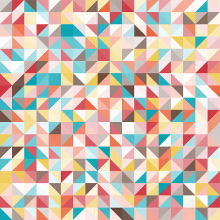 Colorful geometric pattern. Triangle surface textures. Low poly design.