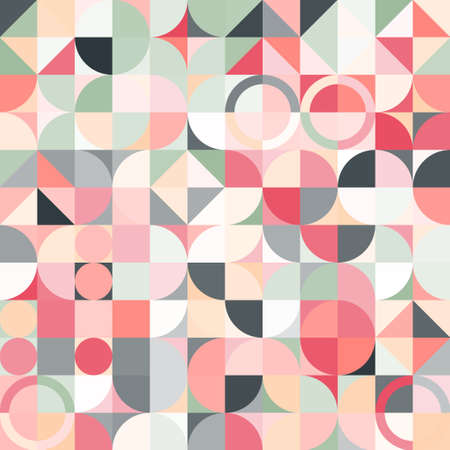 Colorful geometric pattern. Triangle surface textures. Low poly design. Archivio Fotografico - 162701373