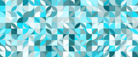 Blue geometric pattern. Abstract decorative backdrop can be used for wallpaper, pattern fills.
