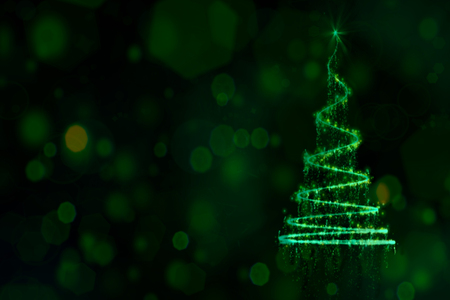 Bright and Shining Mystery Christmas Background