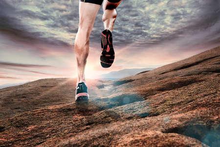 staffel: Laufen im Freien Lizenzfreie Bilder