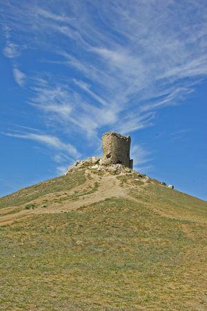 genoese:        Genoese fortress ruin