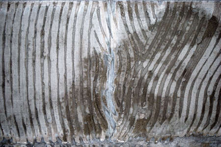 concrete wall, preparation under a ceramic tile Stock Photo - 2943181
