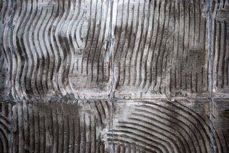 concrete wall, preparation under a ceramic tile Stock Photo - 2943180