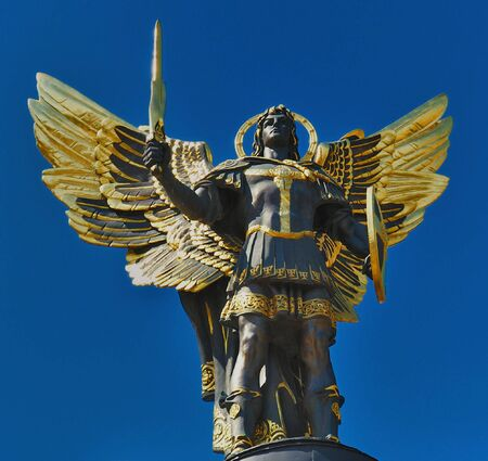 Archangel (Arkhistratig) Michael - Sainted promoter of Kiev Stock Photo - 2943166