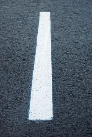 markings: asphalt road line,  dividing lines on the highway Stock Photo
