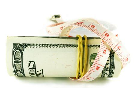 bankroll: dollar grows thin, one hundred dollar bill roll