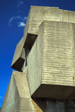 high end: concrete and sky, dead inorganic and incorporeal