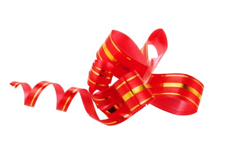 A red bow is dekor for celebration day of Snt. Valentine Stock Photo - 4168525