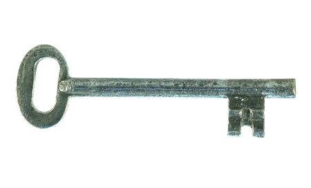 age-old key from a ferruginous metal Stock Photo - 4237882