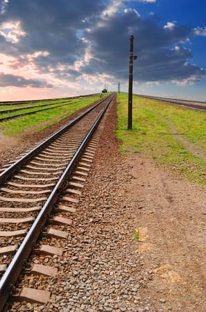 leavings far ways of railway Stock Photo - 4237957