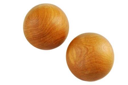 executed: Zen Oriental balls executed from a wood