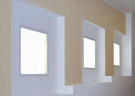 lightweight: details of office interior with illumination close up Stock Photo