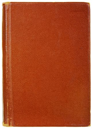 age-old book, isolated on a white background