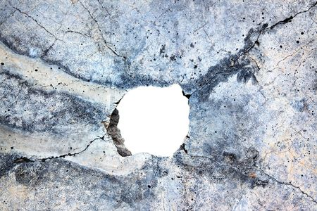 hole in the concrete, the conceptual background photo