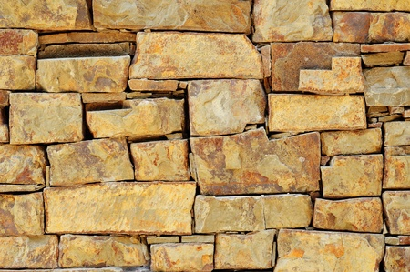 sandstone: texture of the masonry wall as background