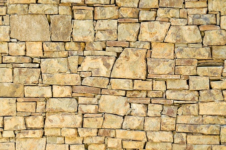 texture of ancient stone walls as a background Stock Photo