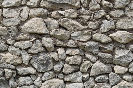 texture of ancient stone walls as a background photo