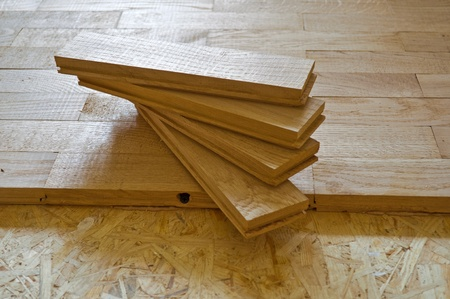parquet boards, executed from an oak, by CU Stock Photo - 10922980