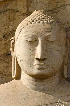 vihara: gal vihara Buddha Polonnaruwa. Sri lanka.