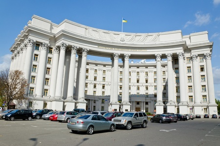 building of the Ministry of Foreign Affairs of Ukraine, Kiev, Ukraine, 09 16 2011