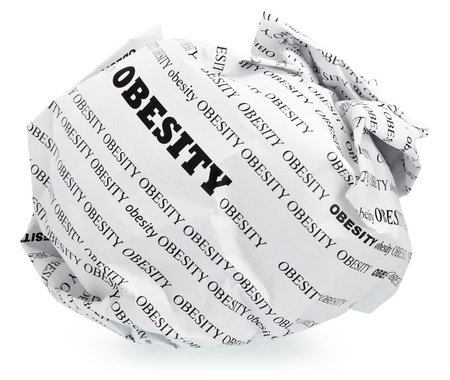 ball of crumpled paper with conceptual text. Isolated , expanding the zone of focus achieved by picking out a few photos Stock Photo - 13251022