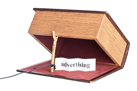 advertising. box is installed in the form of the trap.