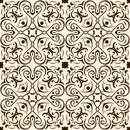 revivalism: seamless pattern abstract