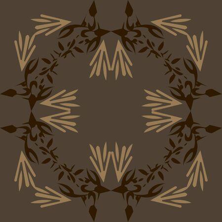 seamless pattern abstract birds Stock Vector - 14482813