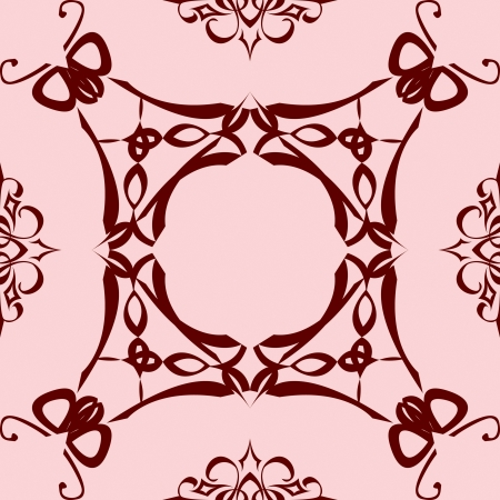 abstract flies ornament Stock Vector - 14482814