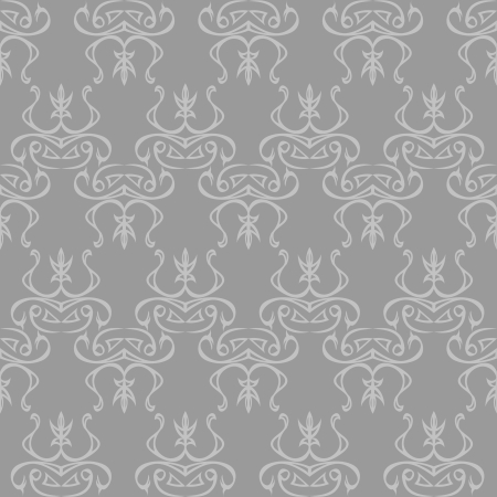 seamless abstract grey pattern Stock Vector - 14482830